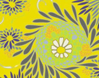 Art Gallery- Yellow Floret Color Splash fabric 1 yard
