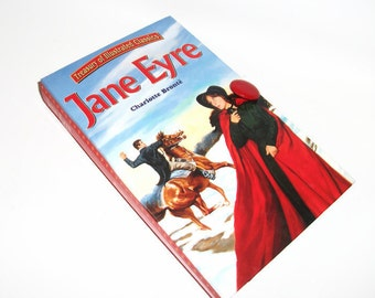 Jane Eyre Charlotte Bronte Book Clutch Purse