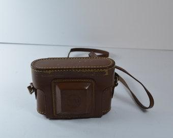 vintage kodak leather camera holder case