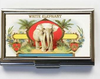 Elephant Business Card Holder Card Case