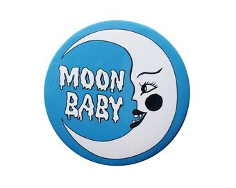 Moon Baby Button
