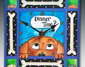 Dinner Dog Clock