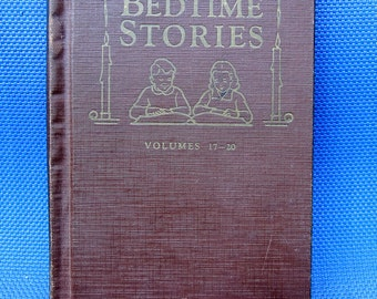 Uncle Arthur's Bedtime Stories Volume 17-20 | Moral Lessons | Scriptural Devotional Lessons | 1940's Rare Children's Book | Bedtime Stories