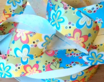 FULL BOLT Grosgrain RIBBON - 1 1/2 Inch x 50 Yards - Multi Mod
