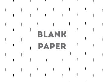 Blank Paper, for 9.25 x 9.5 Album