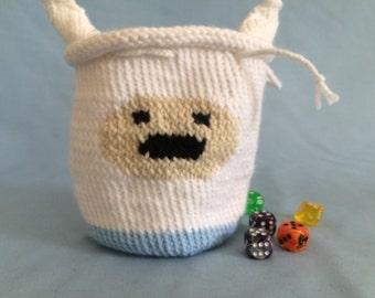Adventure Time Finn Dice Bag/Pouch