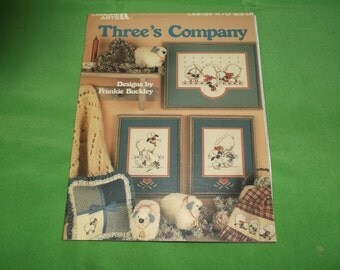 Threes Company Cross Stitch Sheep and Geese Patterns