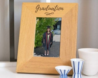 Modern Typography Graduation Photo Frame