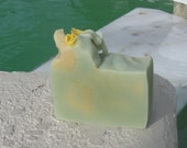 Lemon Verbena Soap  Cold Process Large Vegan  5 oz    buy any 3-6 bars 5.50 Shipping