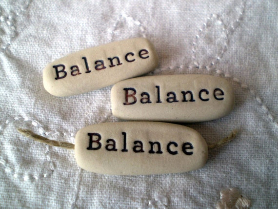 3 balance word beads ceramic word beads clay word beads for Jewelry supply colorado springs