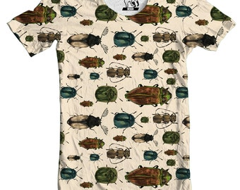 Beetles Men's All-Over Print T-Shirt, Available in S-3XL