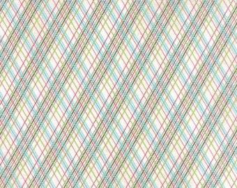 Juniper Berry - From Basic Grey - For Moda - Winter Vanilla (30438 11) - 1 Yard - 9.95 Dollars