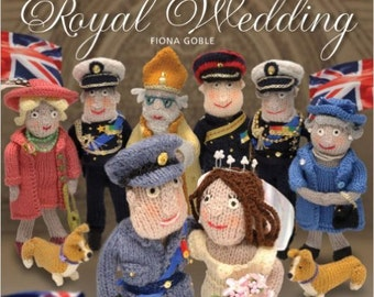 SALE - Knit Your Own Royal Wedding - By Fiona Goble - 4.95 Dollars