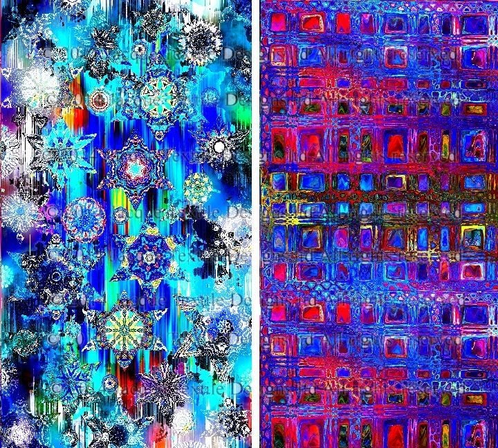 Artist made quilting fabric by the yard 2 large panels for Celestial fabric by the yard