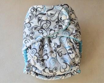 One Size AIO Cloth Diaper