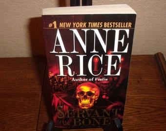 Servant of the Bones-Anne Rice-Paperback Book