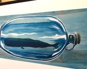 Whale Preserve, blue jar