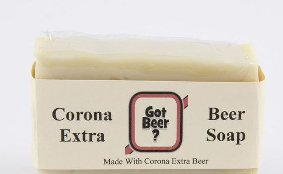 Simply Corona Beer Soap - Made with Corona Extra Beer - Gift For Men, Gift For Him, Stocking Stuffer