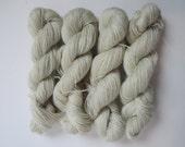 NATURAL 100% Pygora fingering weight yarn - Daisy & Willow