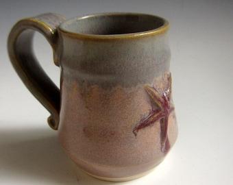 ON SALE 25% Off with Coupon code Beach mug starfish Coffee mug