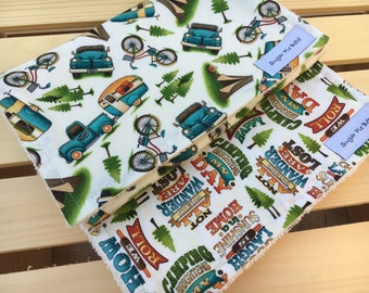 Burp Cloth Set for Boys - Baby Boy Gifts - Baby Gifts for Boys - Burp Cloth Set