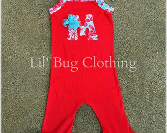 Personalized Romper, Toddler Romper, Summer Spring Girl 1 Piece Romper, Custom Boutique Romper, Teal Lace Romper