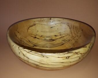 Spalted Hackberry wood bowl