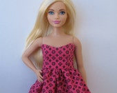 Clothes for Curvy Barbie Fashionista Doll Dress
