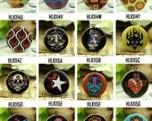 1pcs Photo Locket Necklace,  32mm 25mm 20mm Round Locket Charm - All Images Preview Part 11