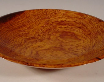 Exotic Cocobolo Rosewood Big Wood Bowl number 6116 by Bryan Tyler Nelson for Nelsonwood