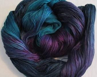 Handpainted 5-2 Egyptian Cotton Yarn    MAJESTY-525 yds.