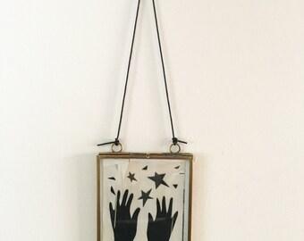 Black Star - Vintage Paper Collage