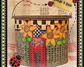 Apple Tree Cottage Original Design E Pattern - Seeds 4 Sale