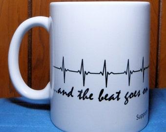 Heart Transplant, Transplant Gift, Transplant Mug, Coffee Mug, Organ Donation, Heart Surgery, Open Heart Surgery, Heart Recipient, Valve