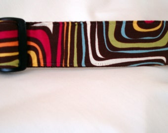 Mod Dog Collar - 1.5 Inches Wide - Ready To Ship