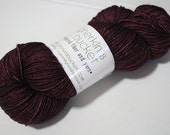 hand dyed yarn - Smart Luxe MCN Fingering - Boudoir colorway