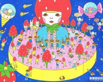 13×19 Art Print  -In the Doughnut-