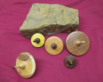 Handcrafted Stocking Stuffers Spinning Tops
