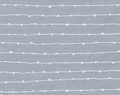 Blueberry Park fabric, Gray fabric, Karen Lewis Textiles, Best Seller, Stripe fabric, Libs Stitches in Iron, Choose your cut