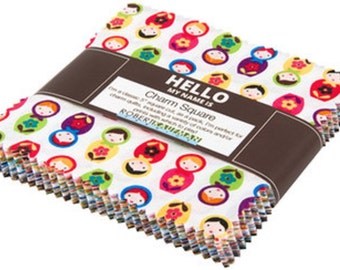 "Suzy's Minis Robert Kaufman Charm Pack, 42 -  5"" precut fabric quilt squares by Suzy Ultman"