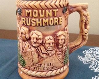 Mount Rushmore Ceramic Souvenir Mug
