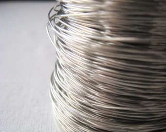 Silver Wire 24 Gauge Nickel Silver Wire Item No. 8588