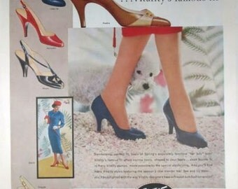 Vitality Shoes Ad Vintage Advertising Wall Art Decor E122
