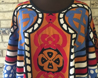 Plus Size 100% Cotton Tunic