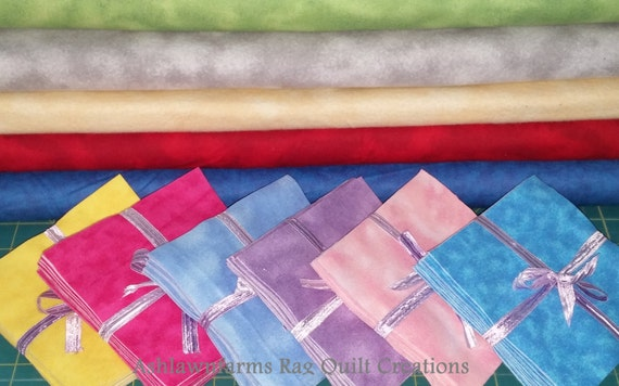 Marble FLANNEL Fabric Squares you pick your colors quantity and size