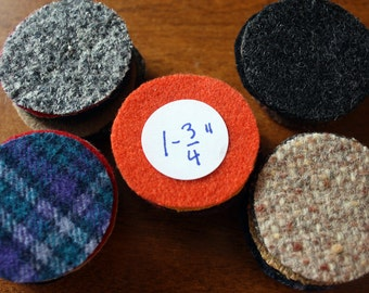 50 - 1-3/4-inch - Felted Wool Circles