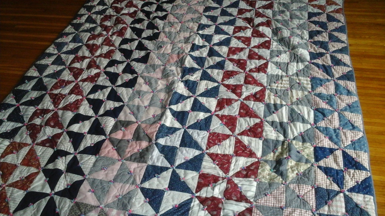 antique 1940 s farmer bed quilt new price 87977