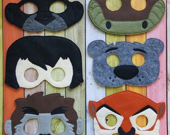 Jungle Friends Masks * Birthday Parties, Party Favors, Playtime