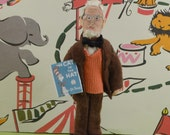 Theodor Suess Doll Miniature Author Art Collectible Childrens Literature