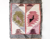 Peruvian Wool Weaving - wall hanging,desert colors